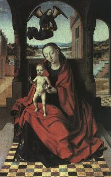Petrus Christus : The Virgin and Child